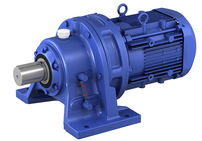 CYCLO Drive Gearmotor_Horizontal_Foot Mount_Integral Motor